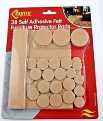 Chair Protection 38 X Self Adhesive Felt Furniture Protector Pads Floor Table Chair