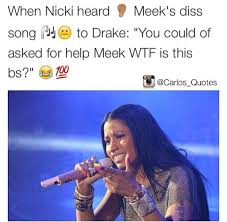 Funny Dissing Memes - fans respond to meek mills diss track with funny memes lol