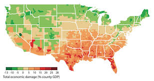 what is a climate map mapping the potential economic effects of climate change the two
