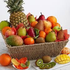 organic fruit gift baskets organic favorites gift basket