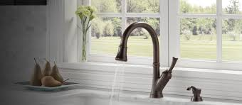 delta stainless steel kitchen faucet astounding delta savile stainless 1 handle pull kitchen