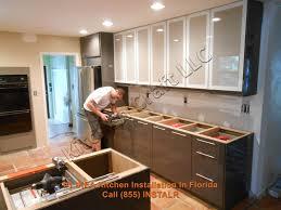 kitchen cabinet installation kitchen decoration