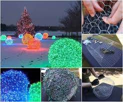 outdoor christmas light balls ideas diy outdoor christmas light balls