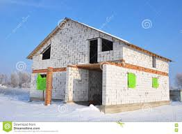 building new house from white autoclaved aerated concrete block royalty free stock photo download building new house from white autoclaved aerated concrete block