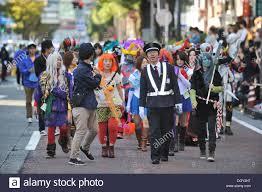 kanagawa japan 27th oct 2013 street parade of the 17th stock