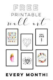 cheap printable wall art monthly subscription service free printable wall art from enframe