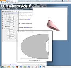 free download cone layout software making offset cones