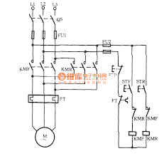 three phase motors for jog commutation circuit relay control