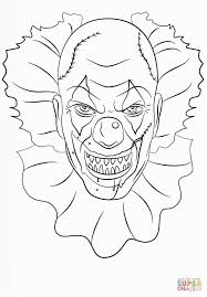 15 Best Scary Clowns Images On Pinterest Evil Clowns Creepy Coloring Scares