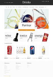 website templates food and drink soft custom website template food