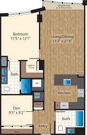 one bedroom floor plans 425 mass apartments mt vernon triangle 425 mass avenue