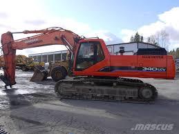 daewoo 340 lcv crawler excavators price 40 975 year of
