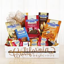 ghirardelli gift baskets discover california gift baskets archives discover california