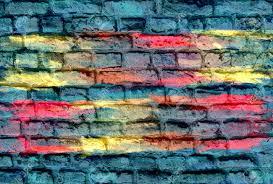 home design graffiti brick wall background drawing foyer bedroom