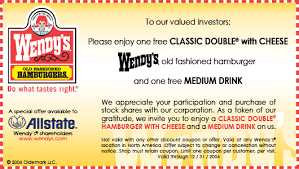 coupons for restaurants wendys coupons restaurant