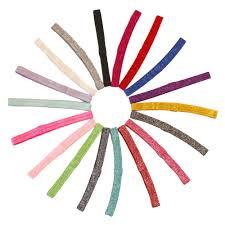 elastic headband sparkle fold elastic headband