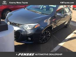 amazon com toyota genuine fluid 2014 used toyota corolla 4dr sedan cvt s premium at kearny mesa
