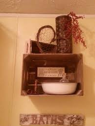 primitive decorating ideas for bathroom primitive bathroom decor home decor by reisa