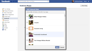 create facebook fan page how to create featured likes on a facebook fan page unskinny boppy