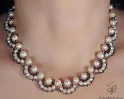 beaded pearl necklace images 192 best pearls seede beads images beaded jewelry jpg