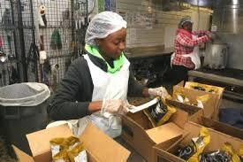 44th annual mozel sanders thanksgiving dinner feeds thousands