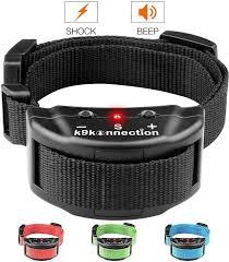 k9konnection no bark training shock dog collar black chewy com