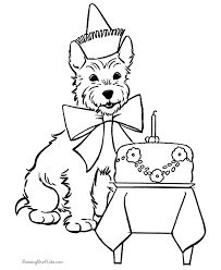 cute puppy coloring book page pages 2 color pinterest cute