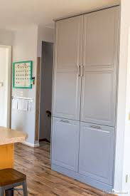 ikea kitchen cabinets free standing how to assemble an ikea sektion pantry infarrantly creative