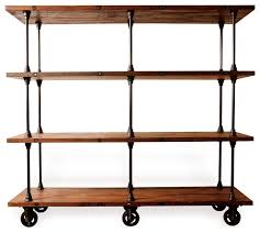 industrial loft collection industrial bookcases other metro