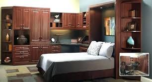 Murphy Bed Office Desk Combo Murphy Bed Desk Combo Bikepool Co