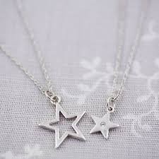 jewelry star necklace images Friendship sister best friend necklace set by j s jewellery jpg