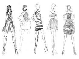 drawing fashion sketches dresses beginners sketches dresses