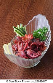 poulpe cuisine poulpe cuisine japonaise fond arrière plan poulpe photo