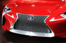 red lexus lf lc concept first look lexus lf lc breaks cover at detroit forcegt com