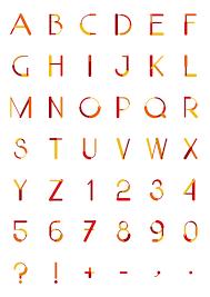 design lines font cool fonts for designers free part1