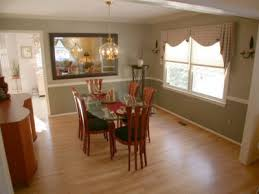 dining room chair rail ideas dining room on hardwood floors chair rail and crown moldings and two