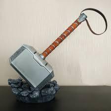 1 1 scale full metal thor hammer mjolnir 1 1 replica thor custom