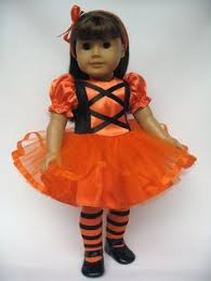 Doll Halloween Costumes Candy Corn 18 Doll Halloween American Candy