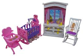 Barbie Dolls House Furniture Amazon Com My Fancy Life Barbie Dollhouse Furniture New Baby Room
