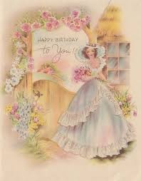 109 best birthday card vintage images on pinterest vintage