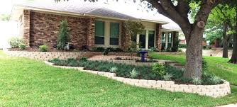 Elevated Front Yard Landscaping - triyae com u003d multi level lawn various design inspiration for