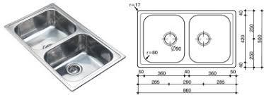 Standard Kitchen Sink Size Kitchen by Double Kitchen Sink Dimensions Home Design