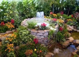 Beautiful Garden Fountains Home Design Garden  Architecture - Garden home designs