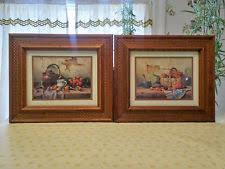 vintage home interiors home interior framed prints ebay