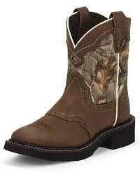 s boots justin justin s square toe boots camo brown