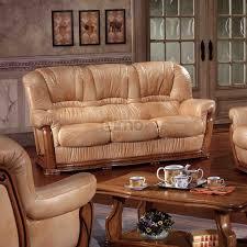 canape rustique salon rustique cuir et bois idées décoration intérieure