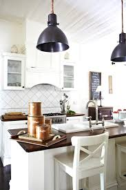 industrial style kitchen island lighting with large four mini