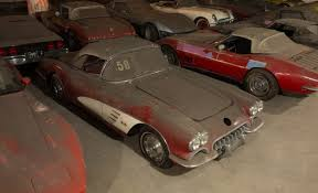 max corvette collection exhumed from parking garage