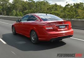 mercedes sport 2013 mercedes benz c 250 coupe sport review video performancedrive
