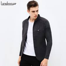 unique mens 2018 new autumn winter fashion brand unique mens blazer jacket